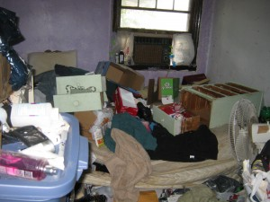 Hoarding cleanup of a Philadelphia home
