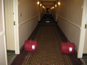 property managers need fast hotel water damage restoration