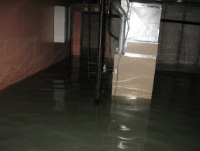 do you have a flooded basement in philadelphia