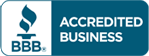 Accredited business by the Better Business Bureau ®