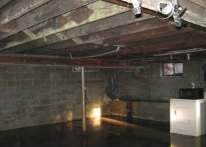 Flooded Basement Water Damage Cleanup
