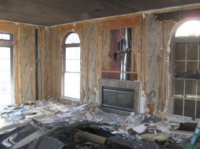 fire damage restoration in Sewell NJ home could have been assisted by disaster planning by the homeowners