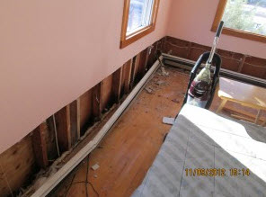 water damage remediation in Toms River, NJ
