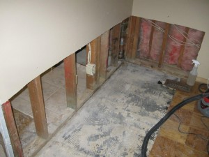 Mold damage remediation in Cherry Hill, NJ home after long-term water damage