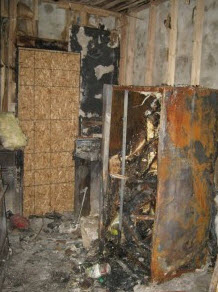Philadelphia kitchen fires destroys refrigerators and everything else in the home