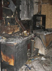 kitchen fires from unattended cooking in Philadelphia cause damage