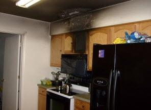 Riverside NJ grease fire