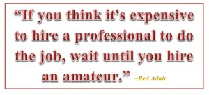 Amateur vs. professional