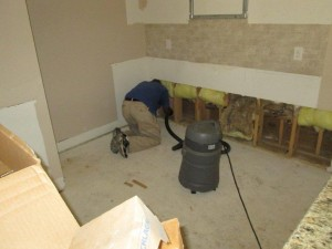 post construction clean up and mold remediation