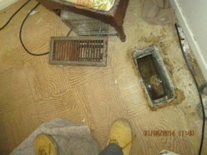 cost of a basement flood: Emergency water damage from flood affects furnaces