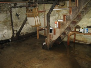 cost of a basement flood in Hamilton New Jersey