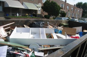 trash out services for hoarding clean up