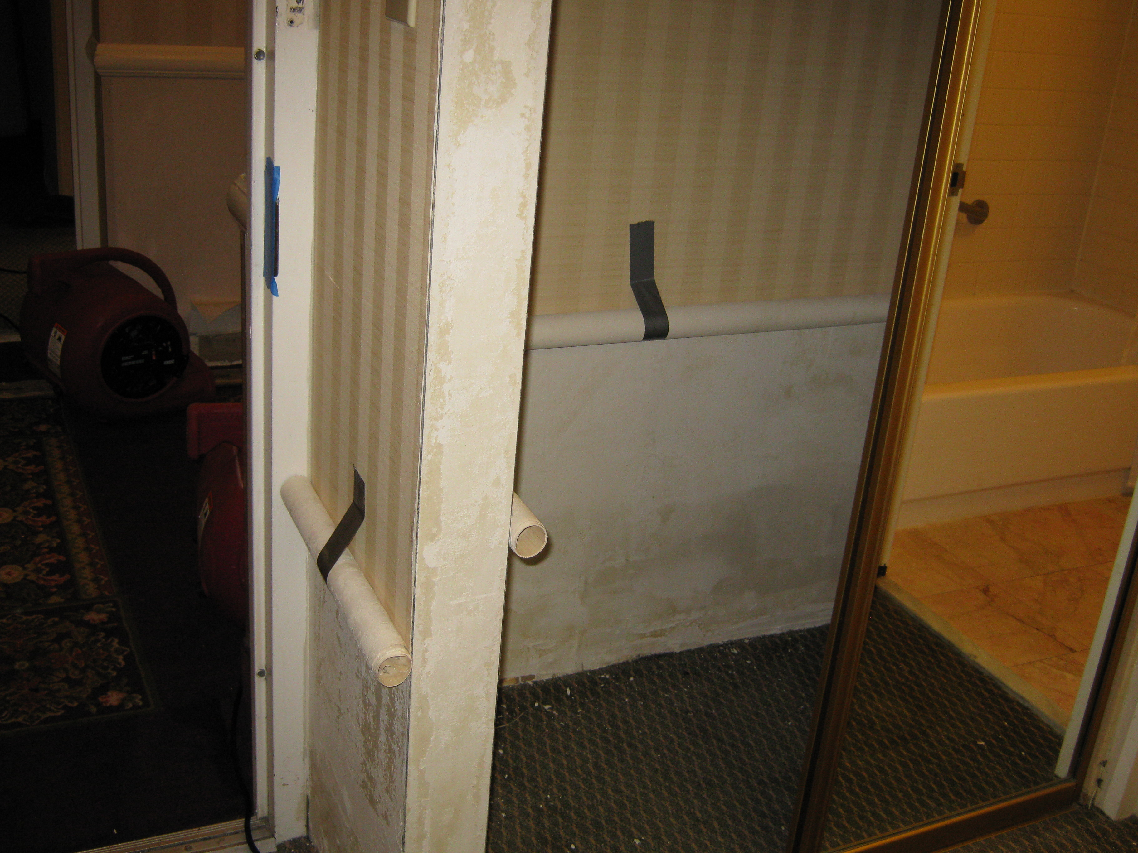 salvaging after water damage in this cherry hill, nj hotel