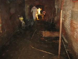 Center City Philadelphia Sewage Clean up