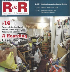 PuroClean PERS on the cover of R&R magazine
