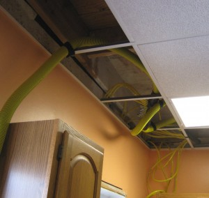 Cherry Hill NJ home water damage from ice dam