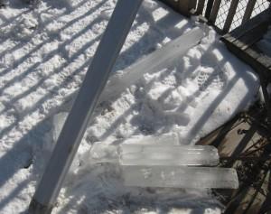 frozen Philadelphia gutter fail