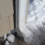 Frozen Gutters, Ice Dams:  The biggest threat to your home right now!