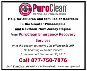 Coupon for help with the crisis of cleanup