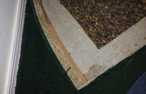 carpet and carpet pad from flooded basement Philadelphia