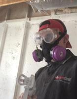 Category 3 Black Water Damage cleanup: PPE