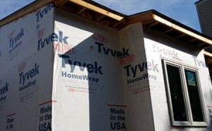 tyvek home wrap seals moisture into homes