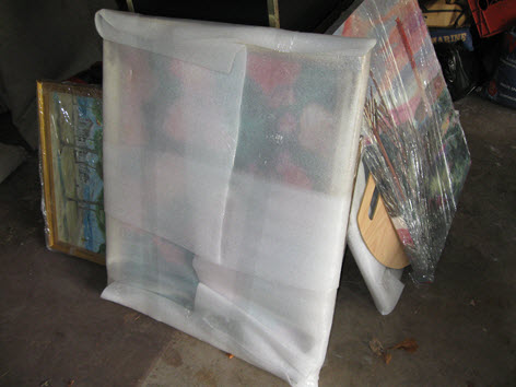 contents pack out protects paintings