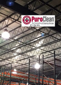 High Dust Cleanup at a Feasterville PA Manufacturing Plant