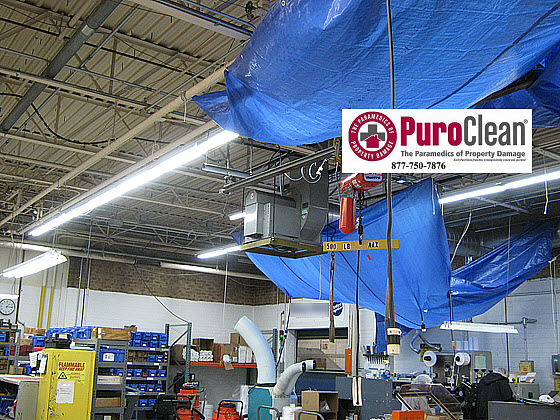 commercial high dust cleanup