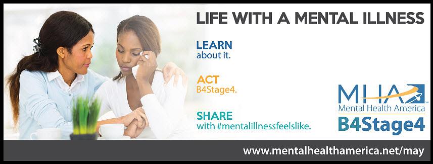 Mental Health Awareness Month 2016