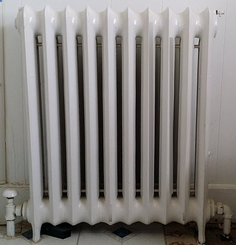 radiators are safer heating for mold sensitized individual