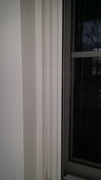 silicone caulk applied correctly will prevent mold damage