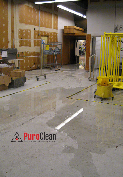 warehouse water damage restoration Langhorne, PA