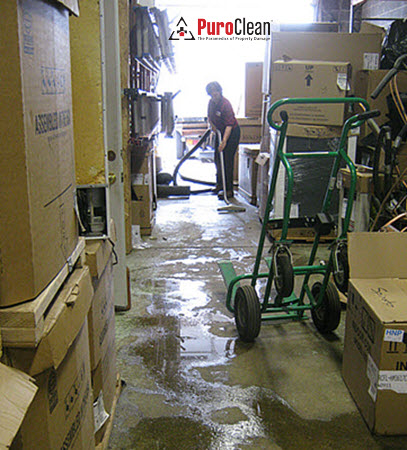 warehouse water damage restoration Pennsauken, NJ