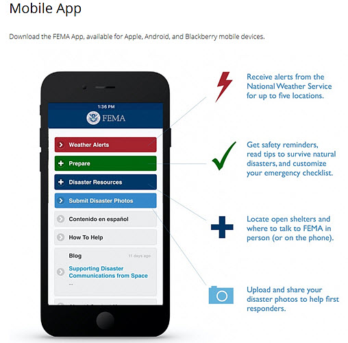 national preparedness month - get the FEMA app for alerts