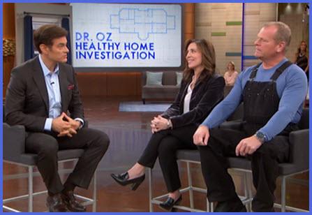 mold fact check: Dr. Oz Healthy Home Investigation