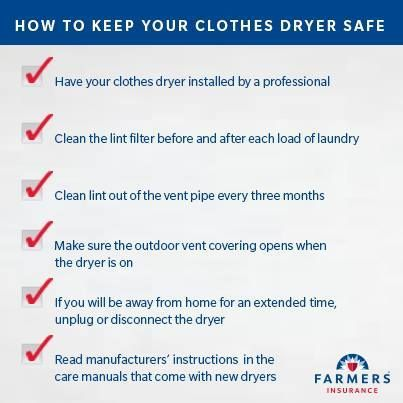 Preventing Clothes Dryer Fires: Top Nine Tips!